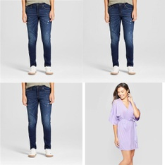 250 Pcs - Jeans, Pants, Legging & Shorts, Womens - New - Retail Ready - Universal Thread, Mad Love, Gilligan & O'Malley, Mossimo