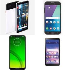 CLEARANCE! 50 Pcs – Cellular Phones – Refurbished (GRADE A, GRADE B, GRADE C – Not Activated) – LG, Motorola, Google Chromecast, Samsung