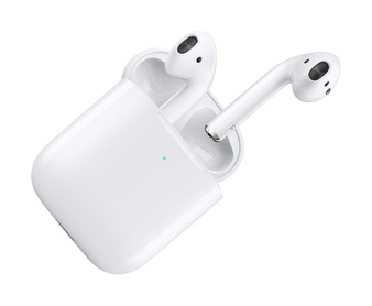 5 Pcs – Apple AirPods 2 White with Wireless Charging Case In Ear Headphones MRXJ2AM/A – Refurbished (GRADE D)