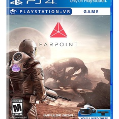 26 Pcs - SONY COMPUTER ENTERTAINMENT Farpoint - PS4 (VR) - New, Like New - Retail Ready