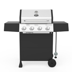 Pallet – Expert Grill 4-Burner Propane Gas Grill – Fixed Side Shelves – Grills & Outdoor Cooking – Customer Returns – Expert Grill