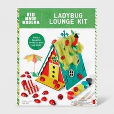 38 Pcs - Kid Made Modern Ladybug Lounge Kit - New - Retail Ready