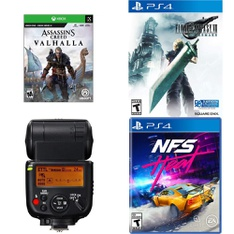 10 Pcs – Electronics & Accessories – Damaged/Missing Parts – Ubisoft, Activision, Canon, Square Enix