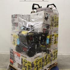 Pallet - 16 Pcs - Pressure Washers - Customer Returns - Karcher