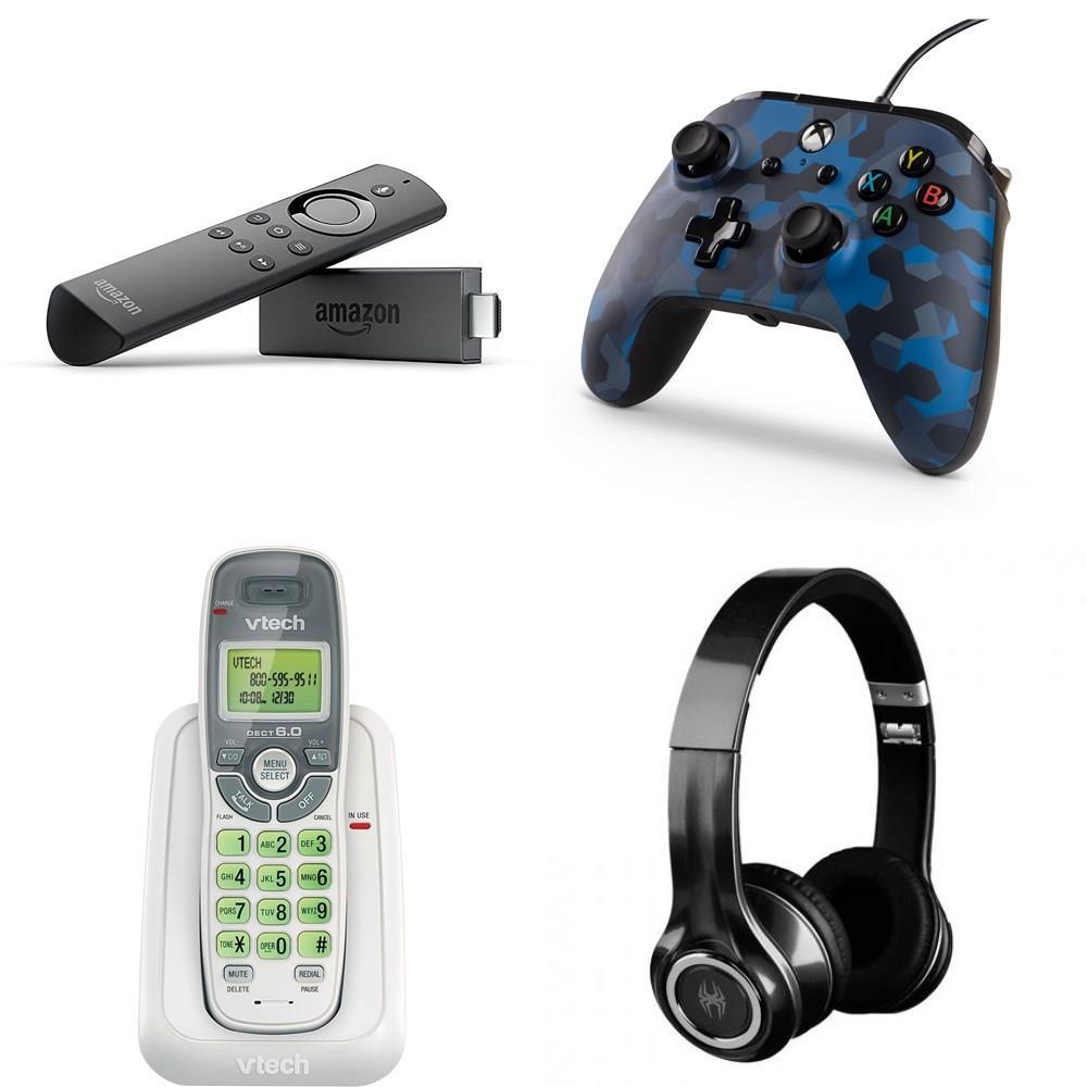 Pallet - 228 Pcs - Other, Portable Speakers, Media Streaming Players  (IPTV), Microsoft - Customer Returns - AMAZON, PowerA, JBL, Onn
