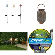 Pallet - 102 Pcs - Patio & Outdoor Lighting / Decor, Pools & Water Fun, Accessories - Customer Returns - HomeTrends, Play Day, Ray Padula, Intex