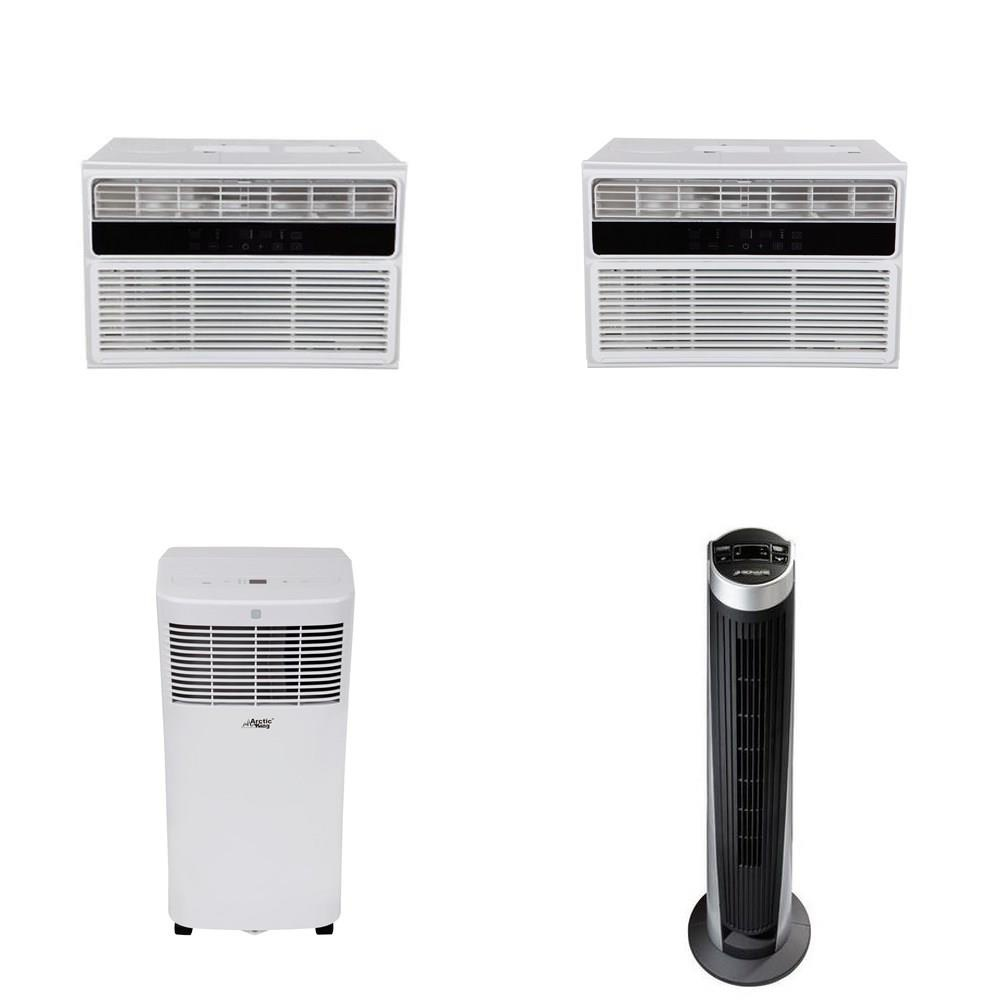 Pallet - 15 Pcs - Air Conditioners, Accessories - Customer Returns - Arctic  King, Bionaire, Arctic, Comfee