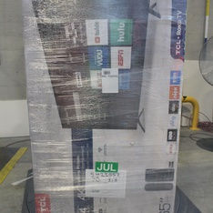 3 Pallets - 25 Pcs - TVs - Tested NOT WORKING (Cracked Display) - TCL, LG, VIZIO, Samsung
