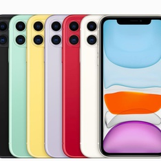 5 Pcs - Apple iPhone 11 128GB - Unlocked - Certified Refurbished (GRADE C)