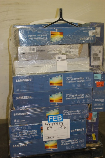 Pallet – 23 Pcs – Monitors – Tested Not Working – Samsung, HP, LG