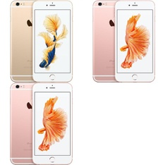 5 Pcs - Apple iPhone 6S Plus - Refurbished (GRADE C - Unlocked) - Models: 3A550LL/A, MN2U2LL/A, 3A551LL/A