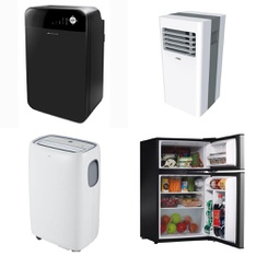 Pallet - 8 Pcs - Bar Refrigerators & Water Coolers, Humidifiers / De-Humidifiers - Customer Returns - Bionaire, Hamilton, Dyna-Glo, TCL