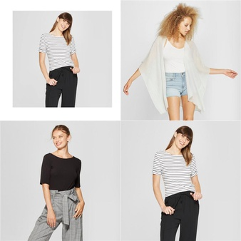 90 Pcs – T-Shirts, Polos, Sweaters & Cardigans – New – Retail Ready – A New Day, Universal Thread