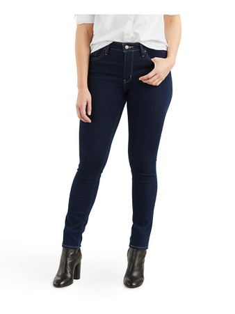 26 Pcs – Levi's 188820023 Women's 721 High Rise Skinny Jeans 27 x 30, Cast Shadows – New – Retail Ready