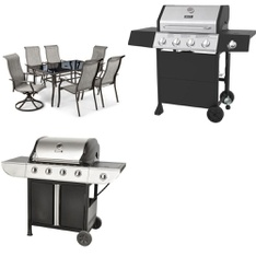 Pallet - 3 Pcs - Grills & Outdoor Cooking - Customer Returns - Backyard Grill, Mainstays