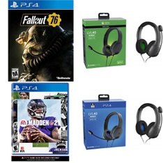 Pallet – 785 Pcs – Sony, Audio Headsets – Customer Returns – Electronic Arts, Bethesda Softworks, Ubisoft, PDP