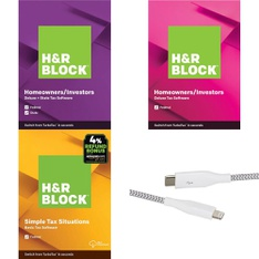 3 Pallets – 3033 Pcs – Other, Software, Power Adapters & Chargers, Over Ear Headphones – Customer Returns – H&R Block, Blackweb, Apple, Onn