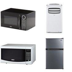 Pallet - 13 Pcs - Microwaves, Air Conditioners - Customer Returns - CURTIS INTERNATIONAL LTD., RCA, Arctic King, Midea