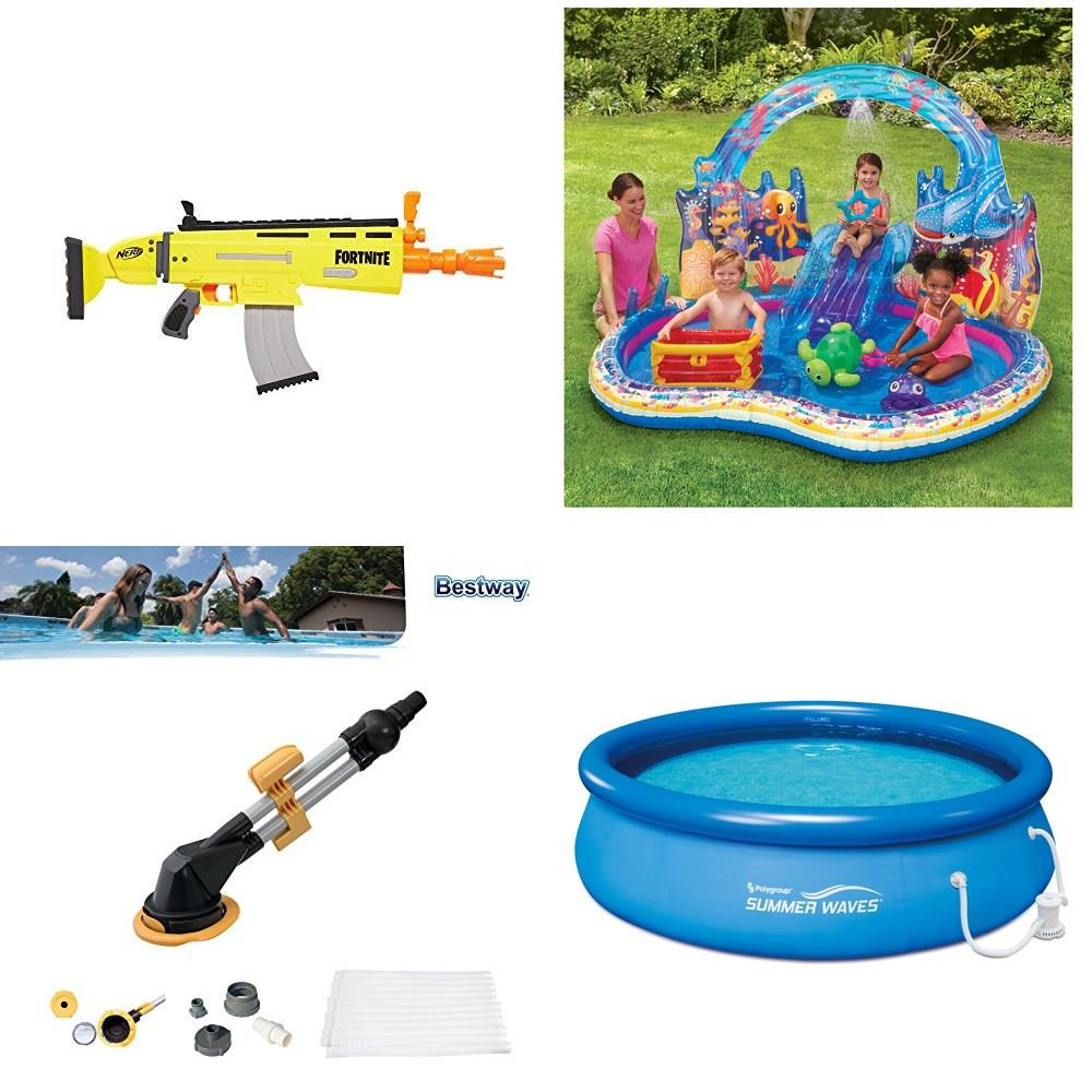 Walmart - Pallet - 103 Pcs - Pools & Water Fun, Outdoor Sports, Boardgames,  Puzzles & Building Blocks, Action Figures - Customer Returns - Hasbro,