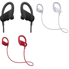 10 Pcs – PowerBeats High Performance Headphones (Tested NOT WORKING) – Models: MWNV2LL/A, MWNX2LL/A, MWNW2LL/A