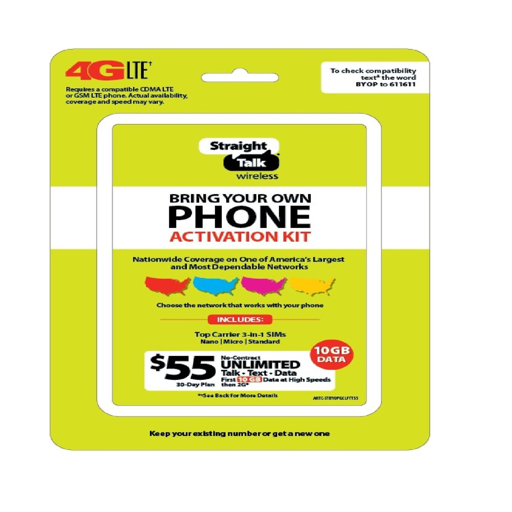 Pallet - 1618 Pcs - Gift / Prepaid / SIM & Activation Cards, Accessories,  Samsung, Action Camcorders - Customer Returns - Straight Talk, AT&T,