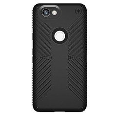 27 Pcs - Speck Google Pixel 2 XL Case Presidio Grip, Black - Plastic Material - Open Box Like New, New, Like New - Retail Ready