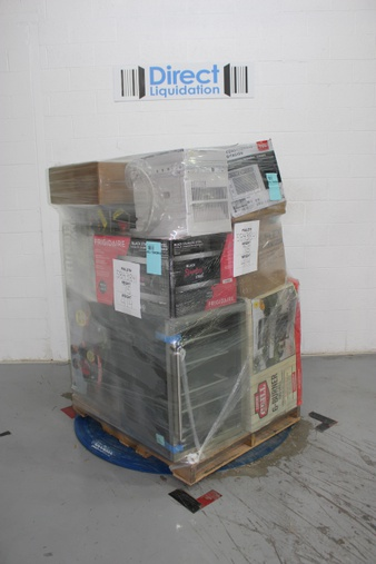 Pallet – 8 Pcs – Air Conditioners, Grills & Outdoor Cooking – Tested NOT WORKING – Members Mark, Action Wheels, GE, Farberware