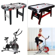 Pallet - 13 Pcs - Game Room, Exercise & Fitness - Customer Returns - MD Sports, Sunny Health & Fitness, GoZone, Ozark