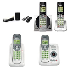 3 Pallets – 1528 Pcs – Cordless / Corded Phones, Accessories, Other, Chargers – Customer Returns – Onn, VTECH, Blackweb, Canon