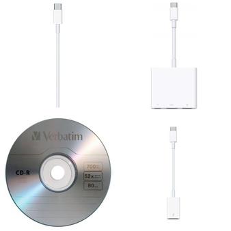 Pallet – 421 Pcs – Other, Accessories, Speakers, Keyboards & Mice – Customer Returns – Apple, Verbatim, Scosche, onn.
