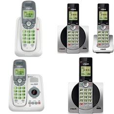 12 Pallets – 5416 Pcs – Accessories, Cordless / Corded Phones, Other, Ink, Toner, Accessories & Supplies – Customer Returns – VTECH, Onn, Blackweb, Apple
