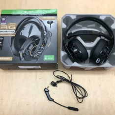 210 Pcs - Plantronics 211221-60 RIG 500 PRO Dolby Atmos Gaming Headset, Black - Refurbished (GRADE A, No Power Adapter)