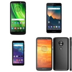 CLEARANCE! 14 Pcs – Smartphones – Tested NOT WORKING – Motorola, ZTE, Nokia, BLU