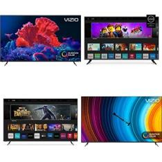 60 Pcs – LED/LCD TVs – Refurbished (GRADE A, GRADE B) – VIZIO, Samsung, ELEMENT, TCL