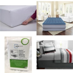 Pallet – 34 Pcs – Covers, Mattress Pads & Toppers – Customer Returns – Mainstays, Beautyrest, Mainstay's