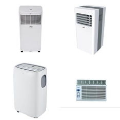 Pallet - 8 Pcs - Air Conditioners - Customer Returns - Arctic King, Midea, TCL, Hamilton Beach