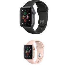 25 Pcs – Generation 5 Apple Watch – 40MM – Refurbished (GRADE A) – Models: MWV82LL/A, MWV72LL/A