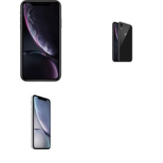 5 Pcs - Apple iPhone XR - Refurbished (GRADE A - Unlocked) - Models: MRYR2LL/A, MT0D2LL/A, MRYR2LL/A - TF