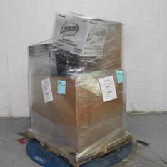 6 Pallets – 69 Pcs – Heaters, Vacuums, Covers, Mattress Pads & Toppers – Customer Returns – Dyna-Glo, Hoover, Libman, Allswell
