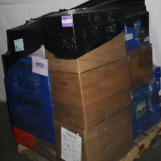 3 Pallets – 131 Pcs – Accessories, Speakers, Boombox, Receivers, CD Players, Turntables – Customer Returns – Onn, onn., CROSLEY , Canon