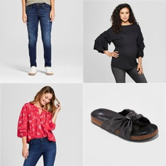 250 Pcs - T-Shirts, Polos, Sweaters & Cardigans, Womens - New - Retail Ready - Universal Thread, A New Day, Isabel Maternity by Ingrid & Isabel, Mad Love
