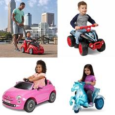 Pallet – 9 Pcs – Vehicles, Baby Toys – Customer Returns – American Plastic Toys, Step 2 – Streetsboro – DROPSHIP, Fiat, Cardinal