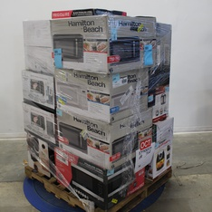 Pallet - 21 Pcs - Slow Cookers, Roasters, Rice Cookers & Steamers, Kitchen & Dining, Microwaves - Customer Returns - Hamilton Beach, Emeril Lagasse, Keurig, Frigidaire