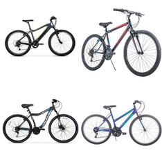 Pallet – 5 Pcs – Cycling & Bicycles – Customer Returns – Movelo, Hyper Bicycles, Ozark Trail