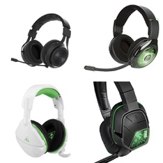 6 Pcs – Video Game Headsets – Refurbished (GRADE A) – PDP, Turtle Beach, LucidSound