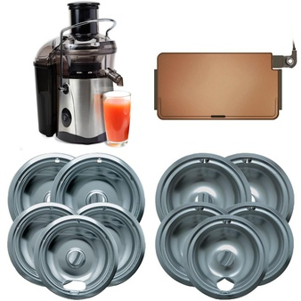 Pallet – 239 Pcs – Kitchen & Dining, Kitchen & Bath Fixtures, Cleaning Supplies – Customer Returns – Range Kleen, Mainstays, Taylor, Tramontina