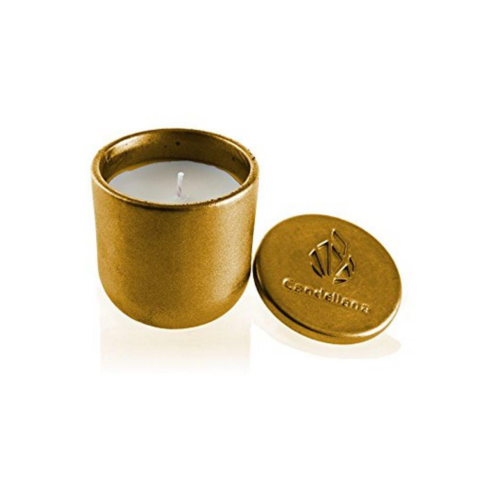 Orient Vanilla Tranquility Brown Scent Candellana Candles Candlefort Concrete Candle