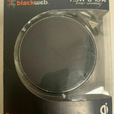 27 Pcs – Blackweb BWB18WI703 7.5W & 10W Fast Dual Wireless Charging Pad W/36W Adapter – Used, Like New – Retail Ready
