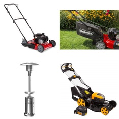 Pallet – 7 Pcs – Mowers – Customer Returns – Hyper Tough, Member's Mark