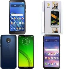 CLEARANCE! 50 Pcs - Cellular Phones - Refurbished (GRADE A, GRADE B, GRADE C - Not Activated) - LG, Motorola, BLU, Samsung